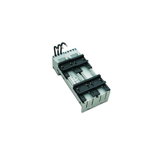 Easyconnector Adapter, 45mm Wide, 1 x Adjustable Mounting Rail, With 4mm Connection Leads, 3P, 25A