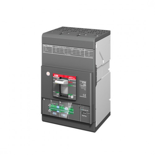 ABB, 1SDA068485R1, Tmax XT4, MCCB, 3 Pole, 250 Amp, 50kA, (LSI) Electronic Trip, Fixed Mounting, Front Terminal Connected