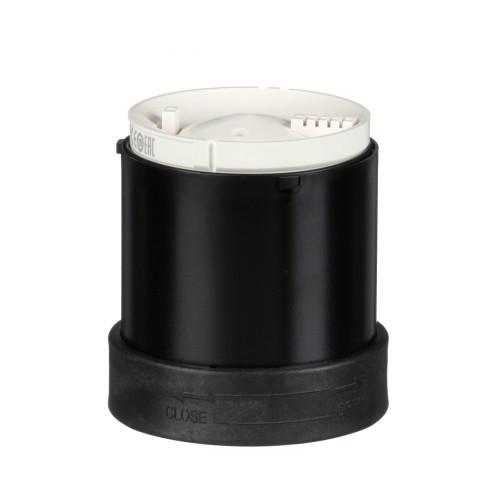 Schneider Electric, XVBC9B, Audible Buzzer Unit for 70mm Ø Modular Tower Lights, Continuous/Intermitten Tone, 70-90dB, 12-48 V AC/DC