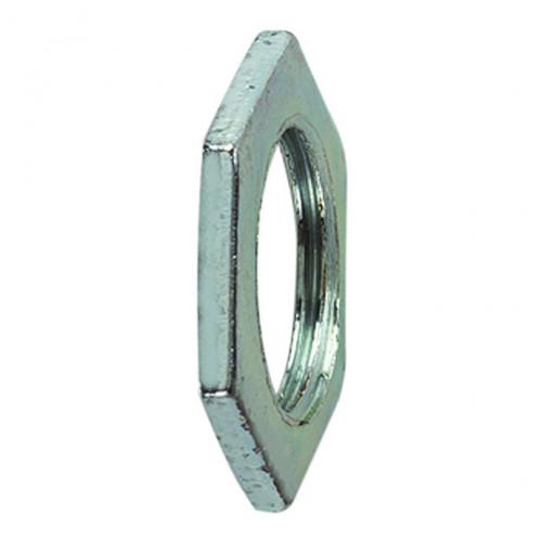 Galvanised Steel Locknut, M40