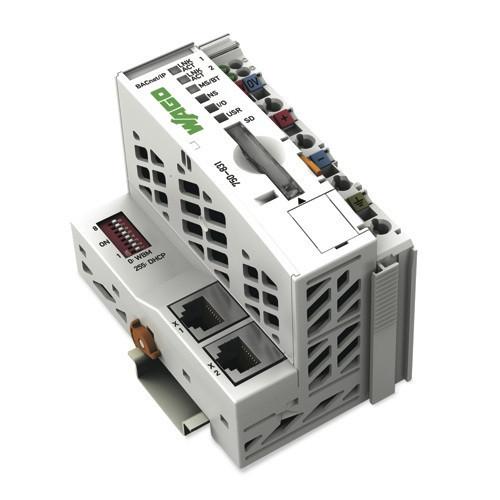 PLC Controller, Ethernet 10 / 100MB, 2 x Isolation Ports, PFC Redundancy, Integral Web Server 2MB Memory + SD Slot