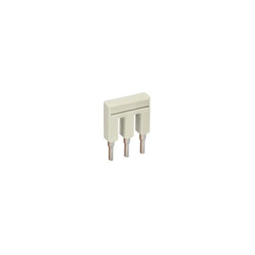 TOPJOB S Cross-connector, Pluggable, To Suit 2.5mm Terminals, 3 Poles, Maximum 25 Amps, IP20