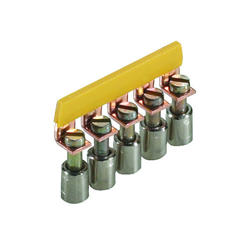 Wieland, IVB WKN 10-5, Insulated Cross-connector, Screw Type, For WKN 10.0mm Terminals, 5 Poles